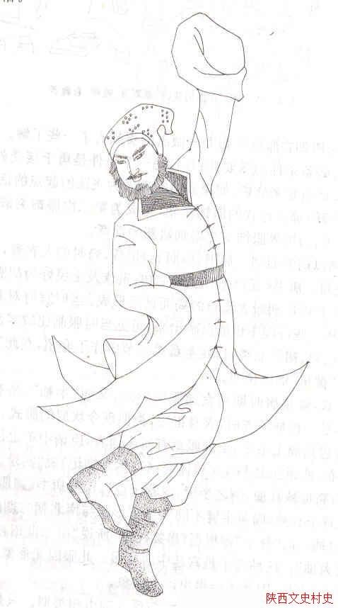 唐朝---跳胡舞者