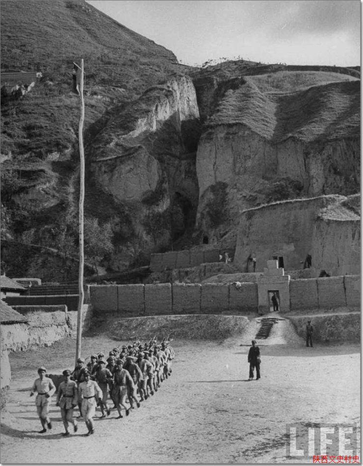 1947年的陕西临潼老照片